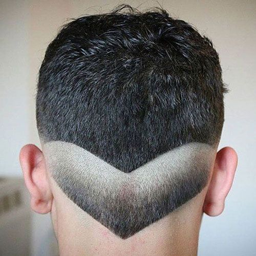 Great The V Shaped Haircut
