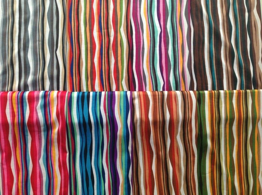 Fashion fabric with print stripe fabric from colorfultextile