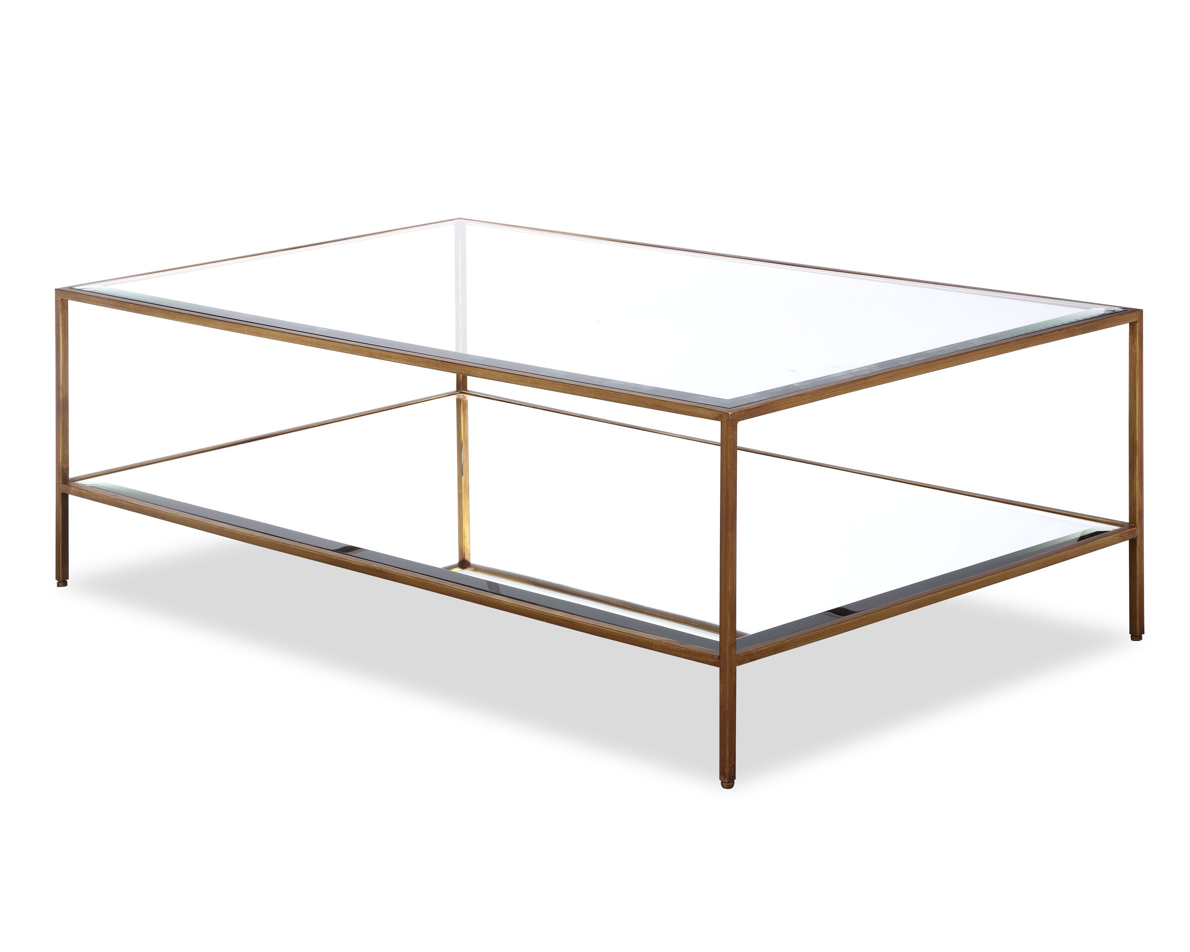 Oliver Coffee Table Antique Gold Glass Top Mirror Shelf Allissias Attic Antique Gold Coffee Table Coffee Table Coffee Table Steel Frame [ 3200 x 4000 Pixel ]