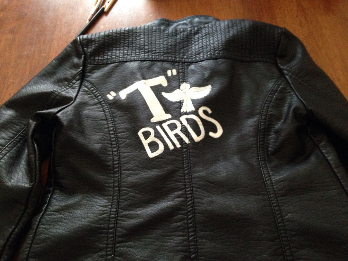 Danny zuko black t shirt - Danny Zuko T Birds Jacket Leather Jacket Was A Great Find At A School