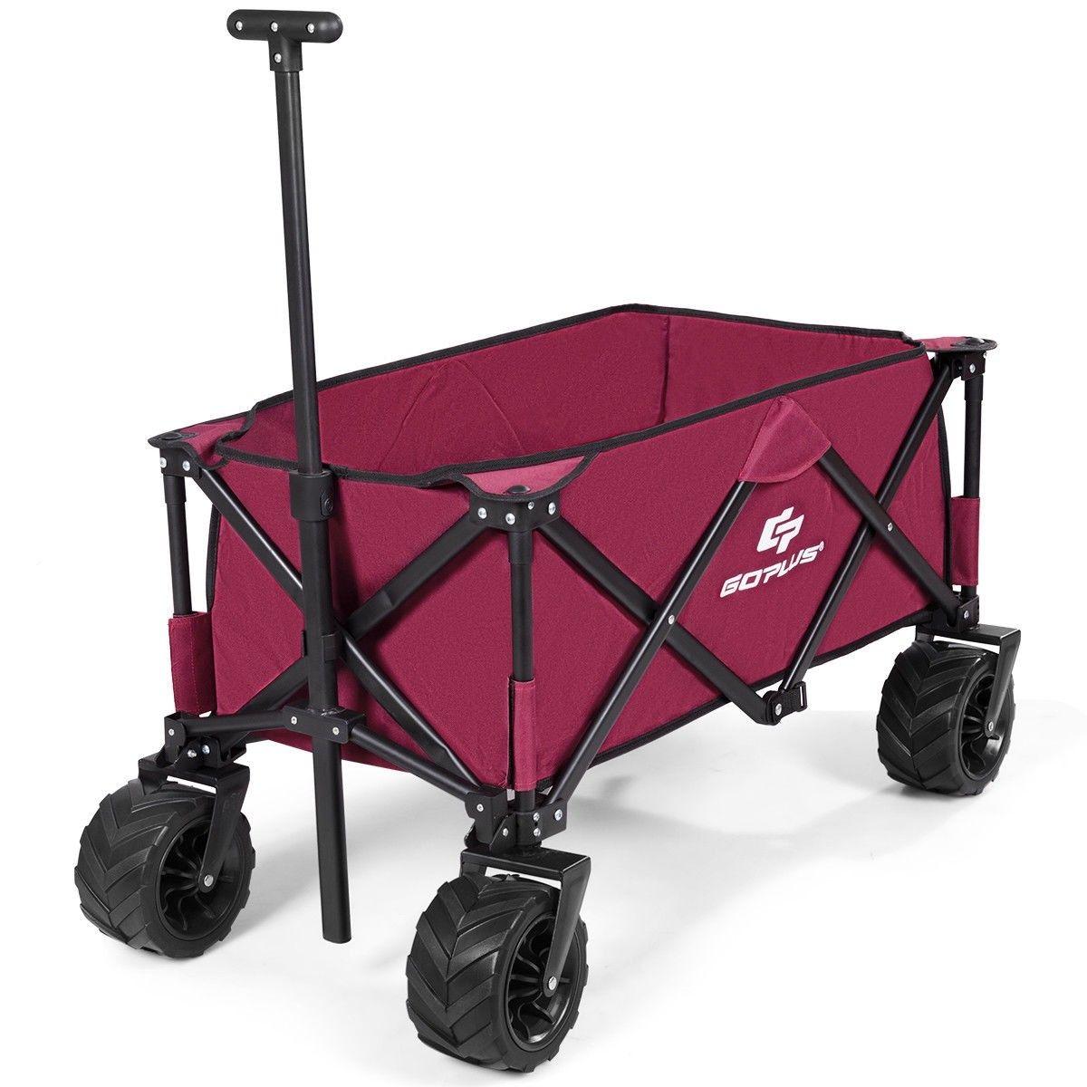 Utility Garden Trolley Folding Wagon