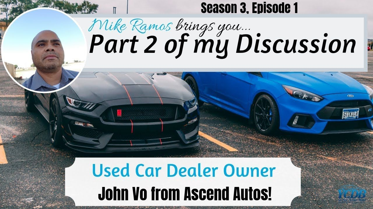 Used Car Dealer Interview With A Real Retail Auto Dealer Part 2 Car Used Cars Sales Techniques