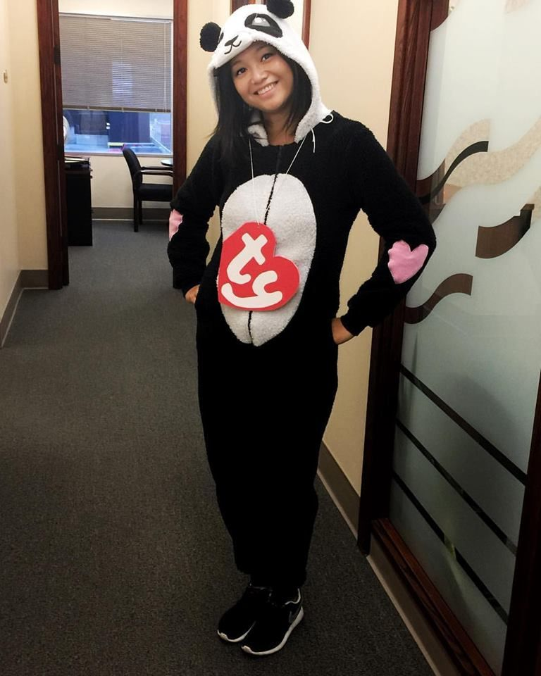 Quick and easy Ty Beanie Baby Halloween costume DIY Halloween - ideas for easy halloween costumes