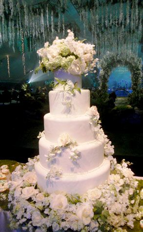Breaking Dawn Wedding Themed Cake