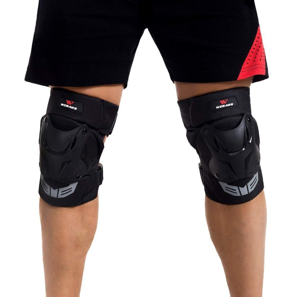Cycling Kneepads Bike Bicycle Sports Armour Protective Gear Knee Guards Braces