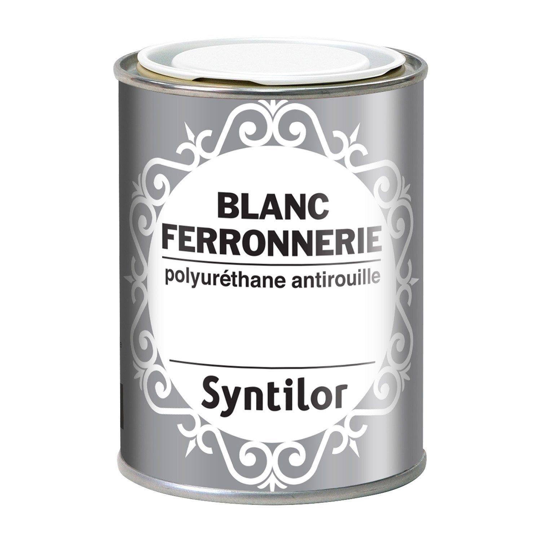 Peinture Ferronnerie Extérieur Syntilor Blanc 025 L