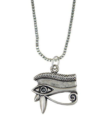 The Eye of Horus Pendant in Sterling Silver Made in America The Silver Dragon http://www.amazon.com/dp/B005FYD2S8/ref=cm_sw_r_pi_dp_LNZBvb177DKGQ