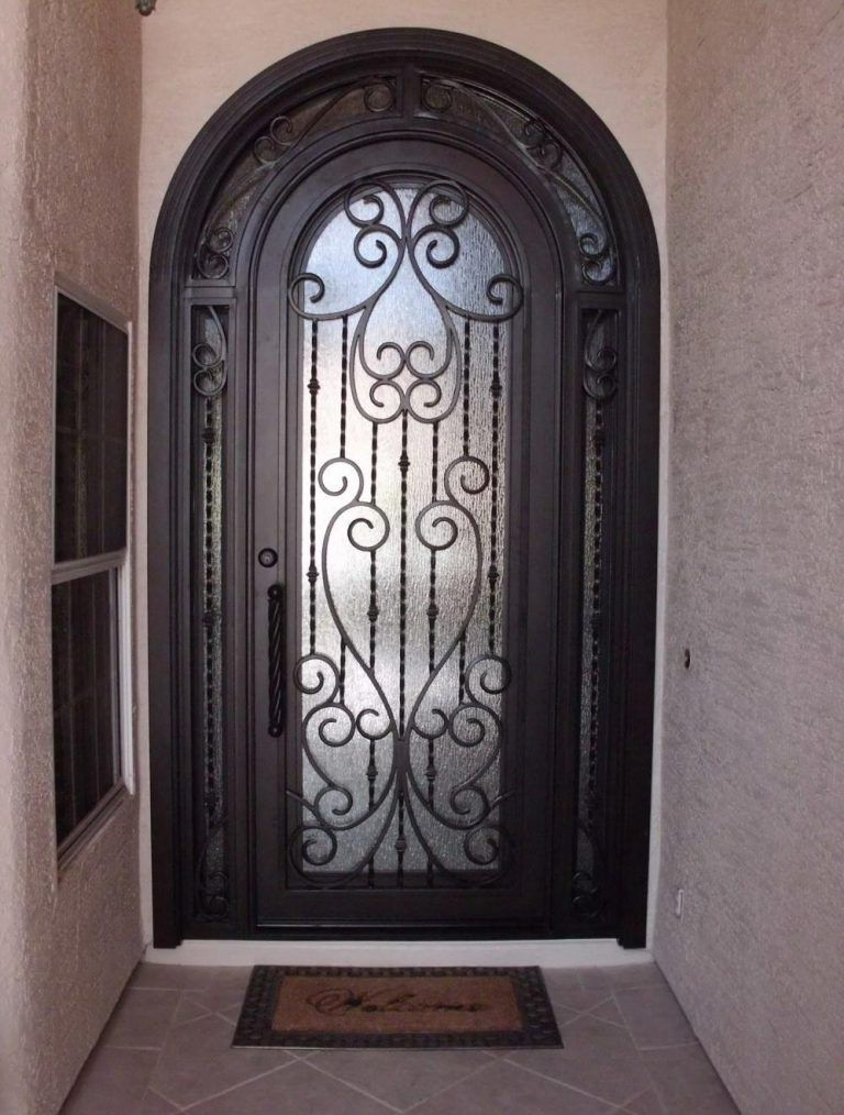 Wrought Iron Door El1108 Wrought Iron Doors Iron Doors Wrought