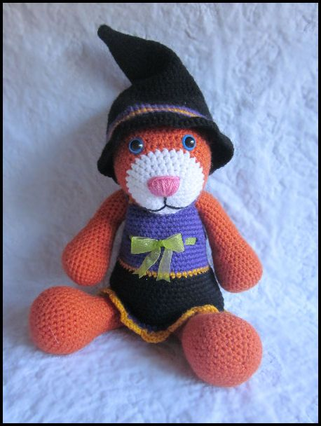 Tabitha the Cat Witch Crochet Pattern on Ravelry