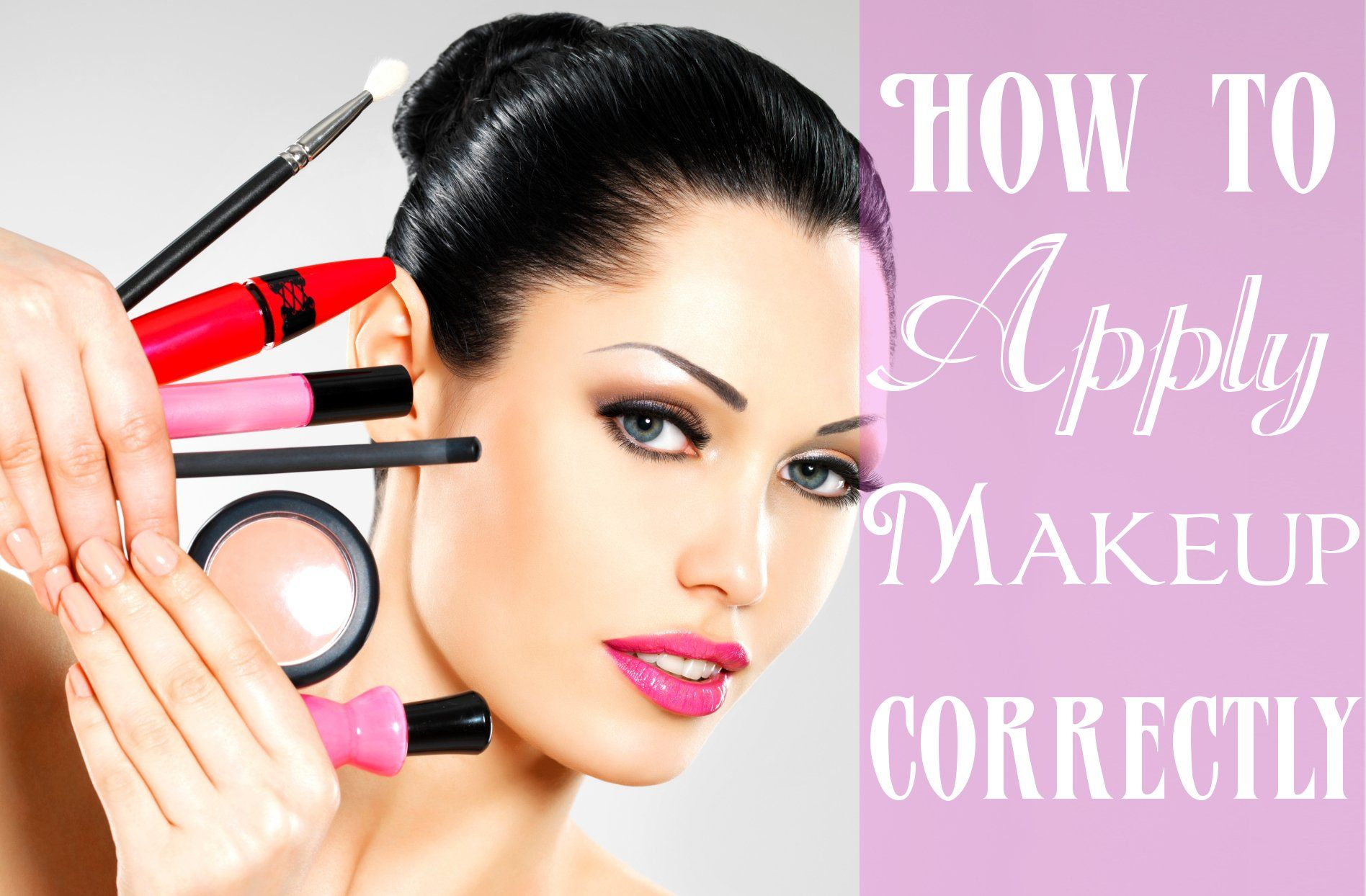 How to Apply Makeup Correctly Southern Californias R.R
