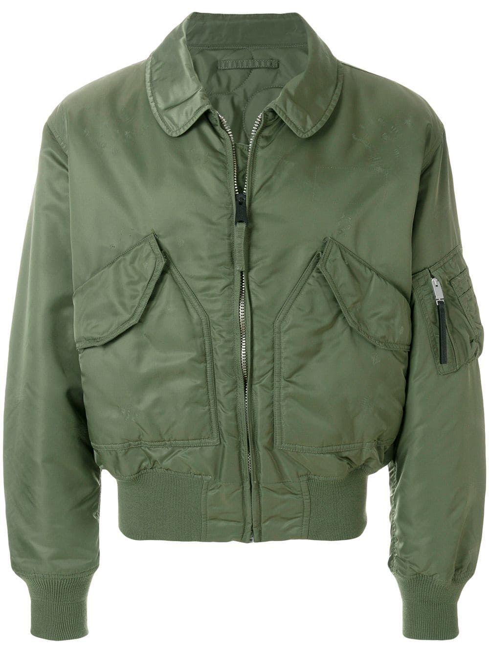 1017 Alyx 9sm Logo Bomber Jacket Farfetch Designer Jackets For Men Jackets Bomber Jacket [ 1334 x 1000 Pixel ]
