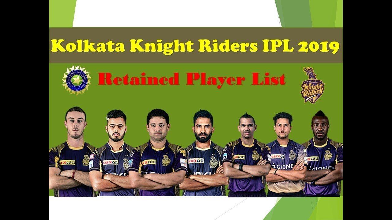 kolkata knight riders all