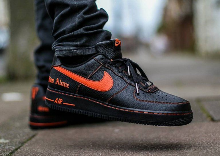bd0138ee69c Vlone x  Nike  AirForce 1 Low