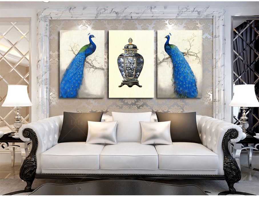 Image result for peacock themed living room ideas