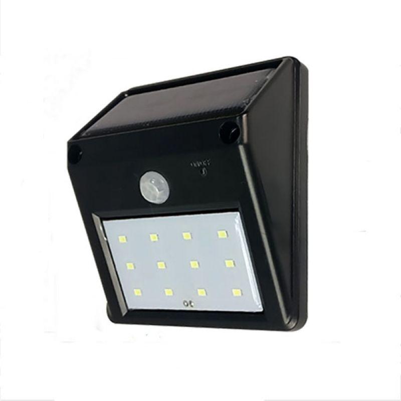 Simple Elegant 12 LED Lumi¨re solaire de capteur de mouvement de PIR Luminaire mural et de sécurité pour jardin Modern - Best of lumiere lighting