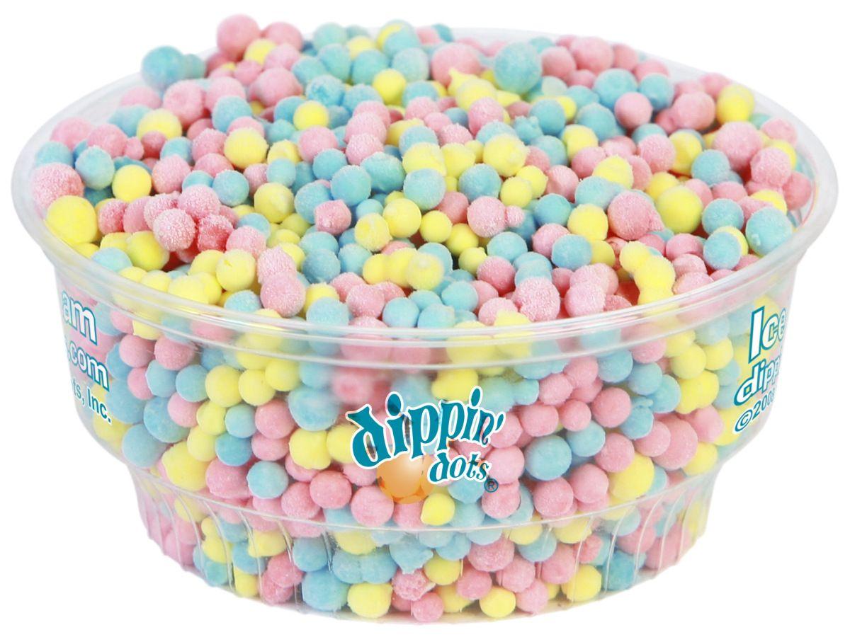 Bubble Gum Cup Warped Logo Sl Copy Dippin Dots Ice Cream Dippin Dots Ice Cream Companies