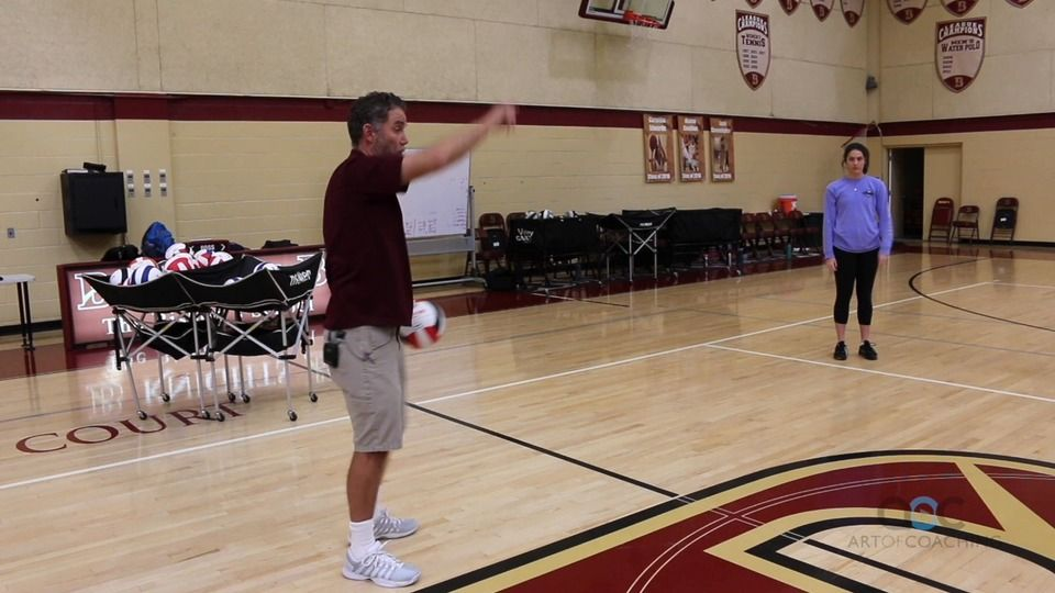 Catch toss spike game for beginners the art of