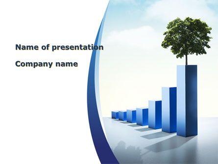 wwwpptstar powerpoint template growing-histogram - histogram template