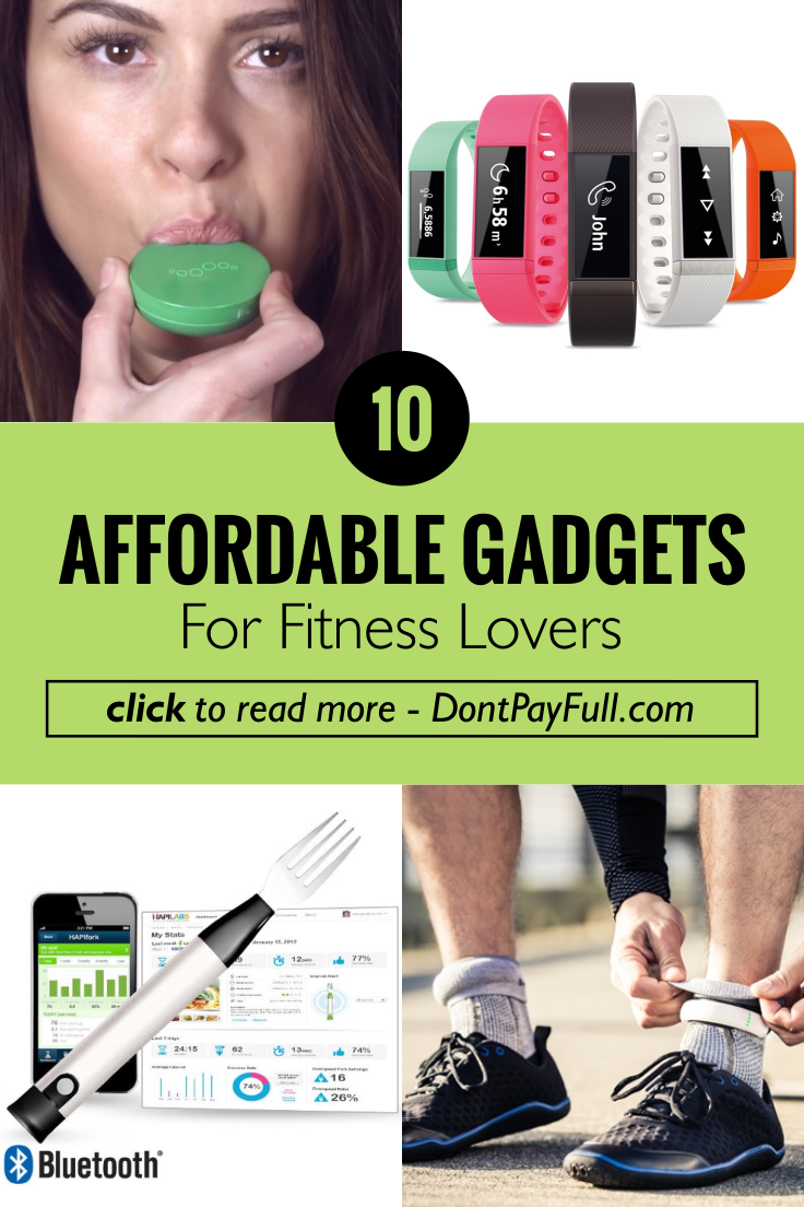 10 Affordable Gadgets for Fitness Lovers #DontPayFull