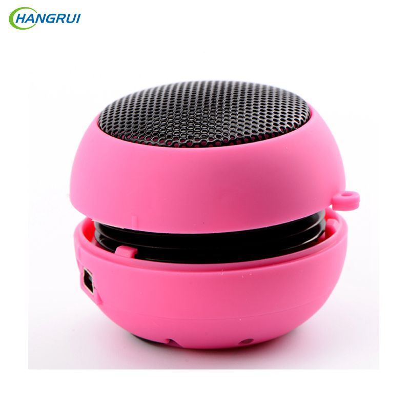 Click To Buy Hangrui Metal Small Burger Portable Speaker Loudspeaker Music Player Mini Stereo Sound Box For Xi Portable Speaker Phone Speaker Sound Boxes