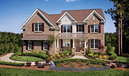 Toll Brothers Ellsworth Floor Plan Designs Collections