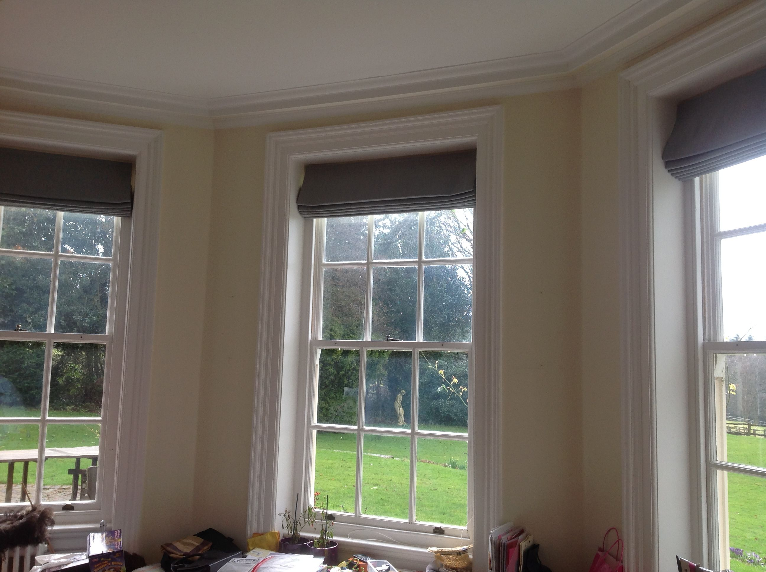Image Result For Recessed Roman Blinds