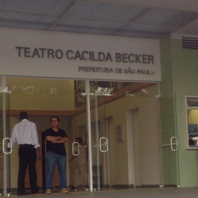 Teatro Cacilda Becker em São Paulo, SP