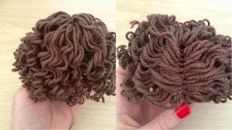 Amigurumi Hair Tutorial : Http: 53stitches.tumblr.com post 92143771047 curly amigurumi hair