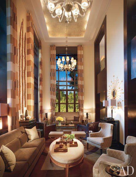 die besten 25 doppelfenstervorh nge ideen auf pinterest vorhang ideen f r wohnzimmer. Black Bedroom Furniture Sets. Home Design Ideas