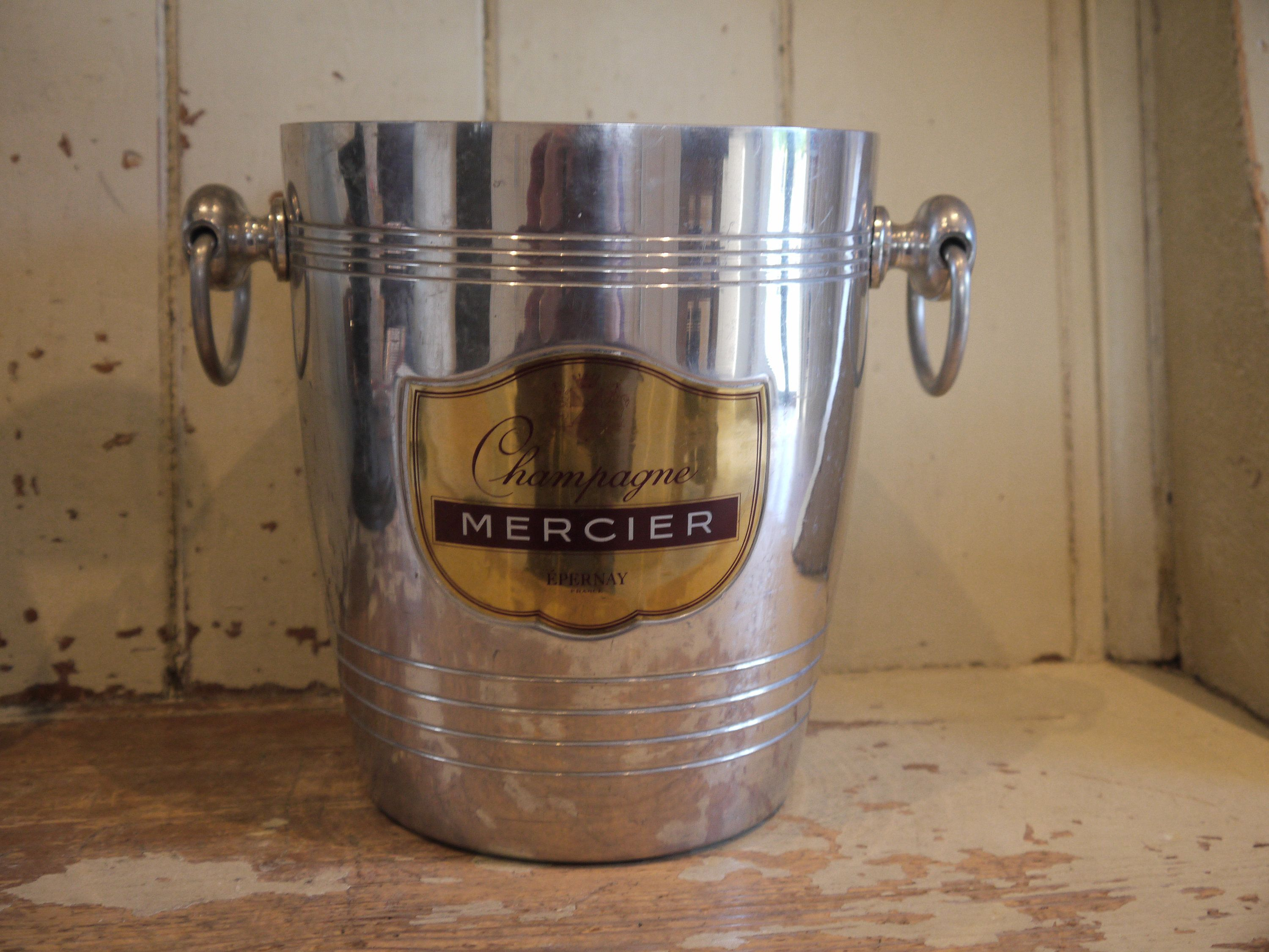 French Vintage Champagne Bucket Vintage Ice Bucket Vintage Champagne Bucket Wine Cooler Vintage Wine Cooler Mercier Champagne Vintage Champagne Champagne Brands Champagne Buckets