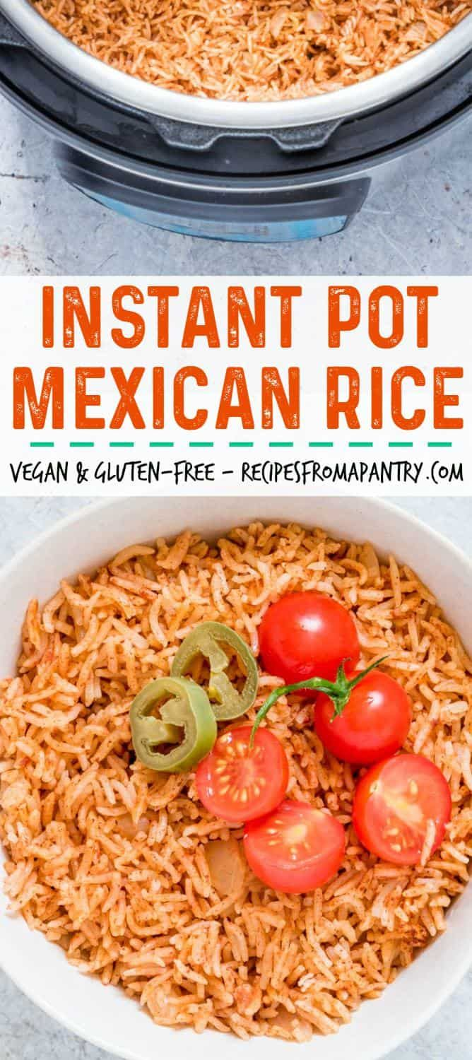 Instant pot mexican rice recipe easy mexican food recipes say hello to the best instant pot mexican rice ever this instant pot spanish rice recipe is so good and makes the best mexican side dish recipe forumfinder Gallery
