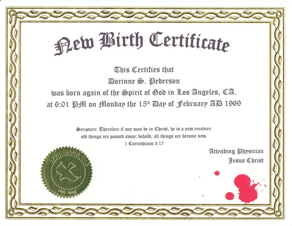 Order yours at httpmynewbirthcertificate my faith order yours at httpmynewbirthcertificate birth certificateschool aiddatafo Gallery