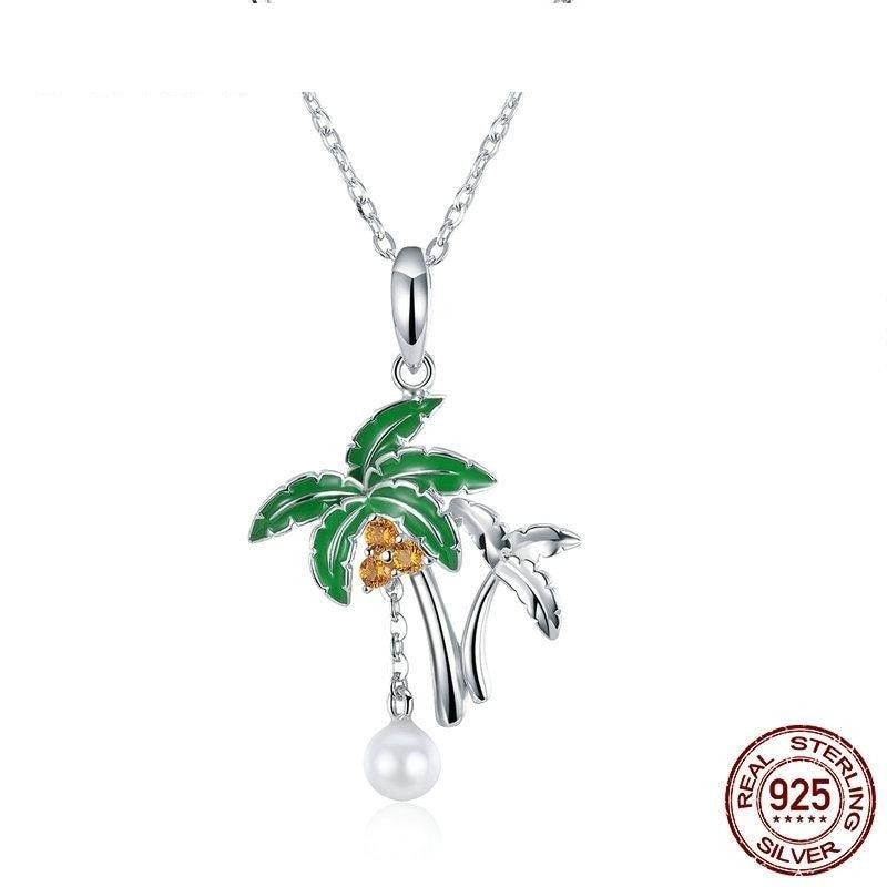 KOKANA Turquoise Stone Polar Star Necklaces for Women and Girls Lovers Birthday
