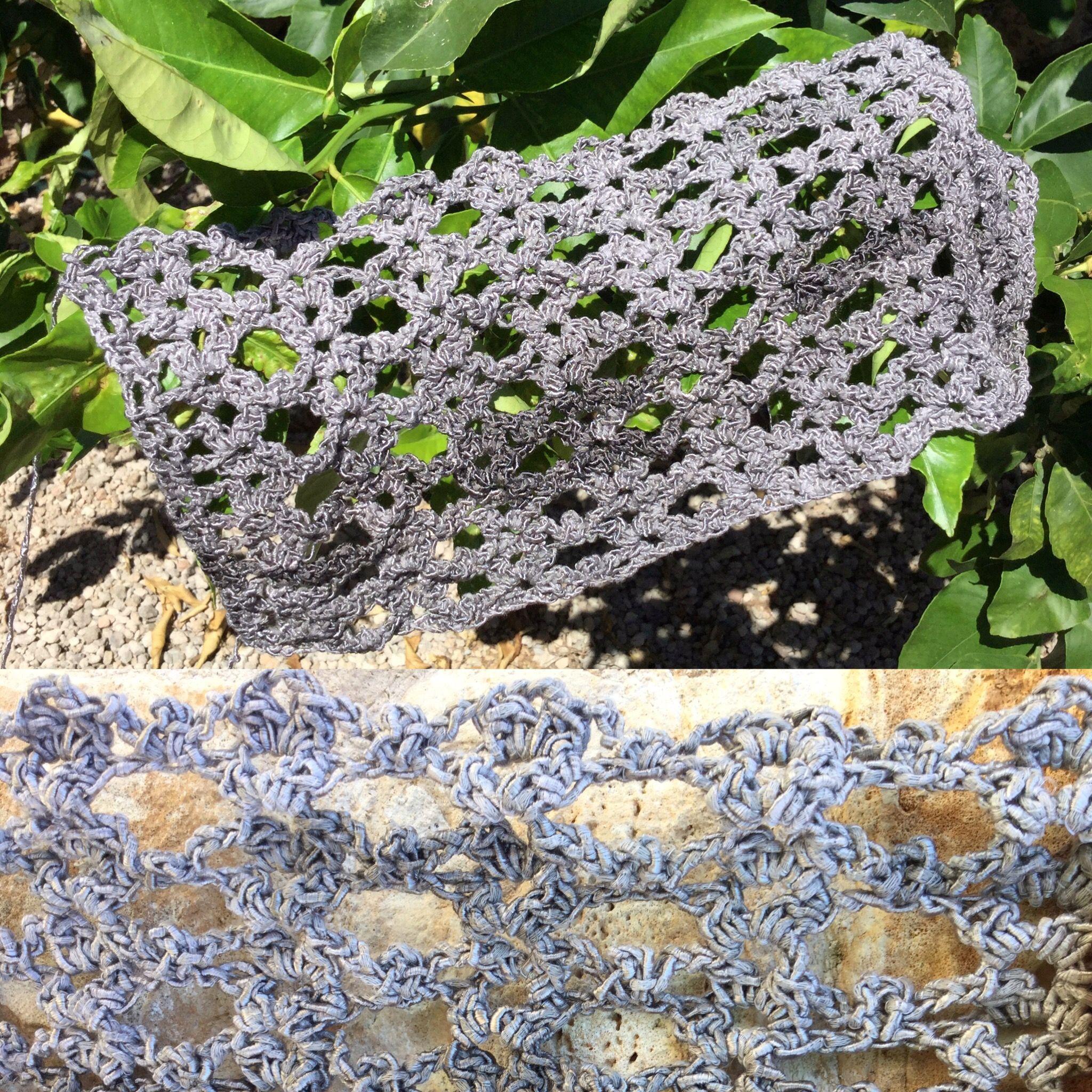Muster für Seide-Baumwoll-Garn einer lieben Coworkerin gefunden bzw ...