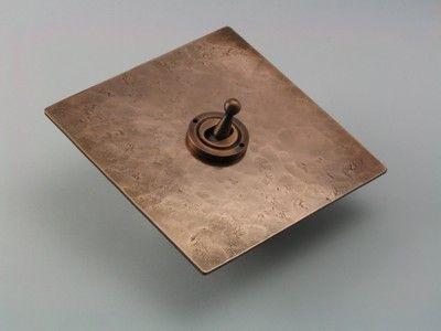 Solid Copper Range Copper Lighting Metal Light Fixture Vintage Light Switches