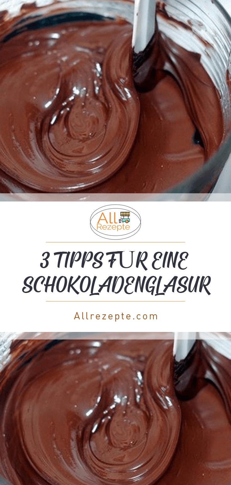 3 Tipps Fur Eine Schokoladenglasur In 2020 Schokoladenglasur Glasur Rezept Schokolade