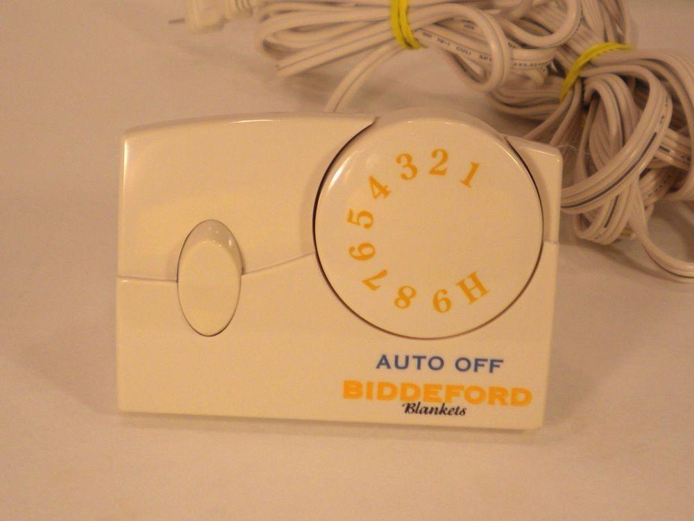 Biddeford Tc11ba Electric Heating Blanket Control 4 Prong 180 Watt Model Beige Biddeford Electric Heating Blanket Biddeford Control4