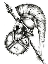 """Résultat de recherche d'images pour """"spartan helmet tattoo"""""""