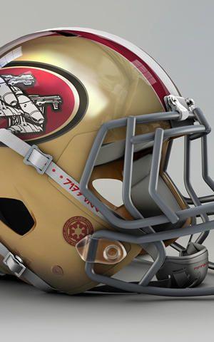 wars star nfl helmets helmet football team every teams 49ers disney culture league imagined re american creativity read francisco san
