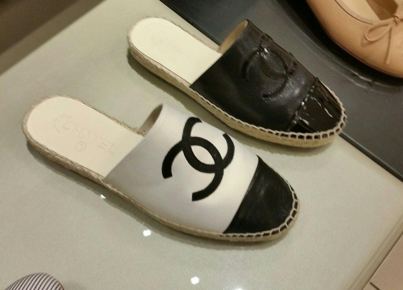 Summer 2018 Chanel slip ons | Chanel