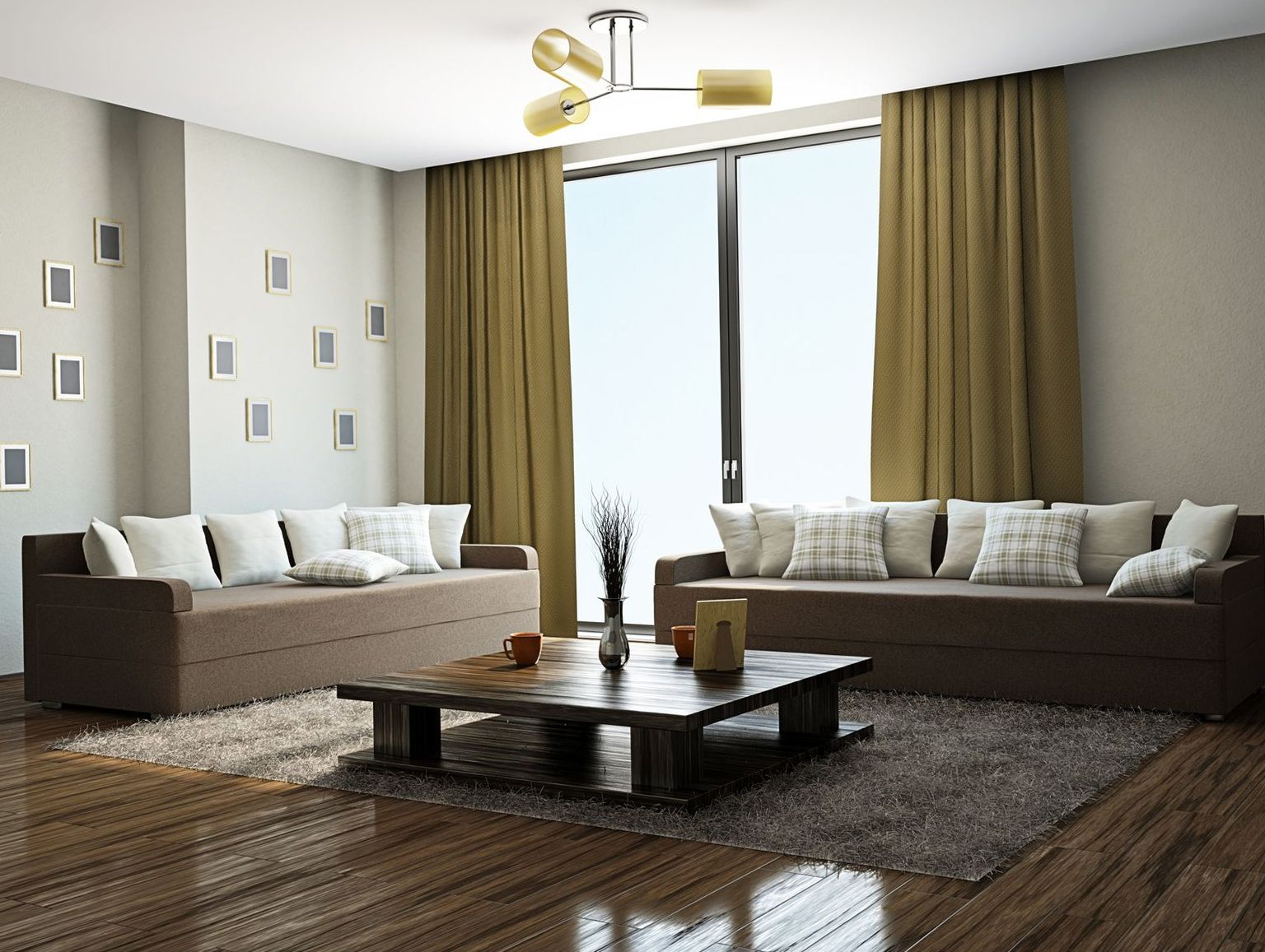 Curtains To Match Chocolate Brown Sofa Living Room Color