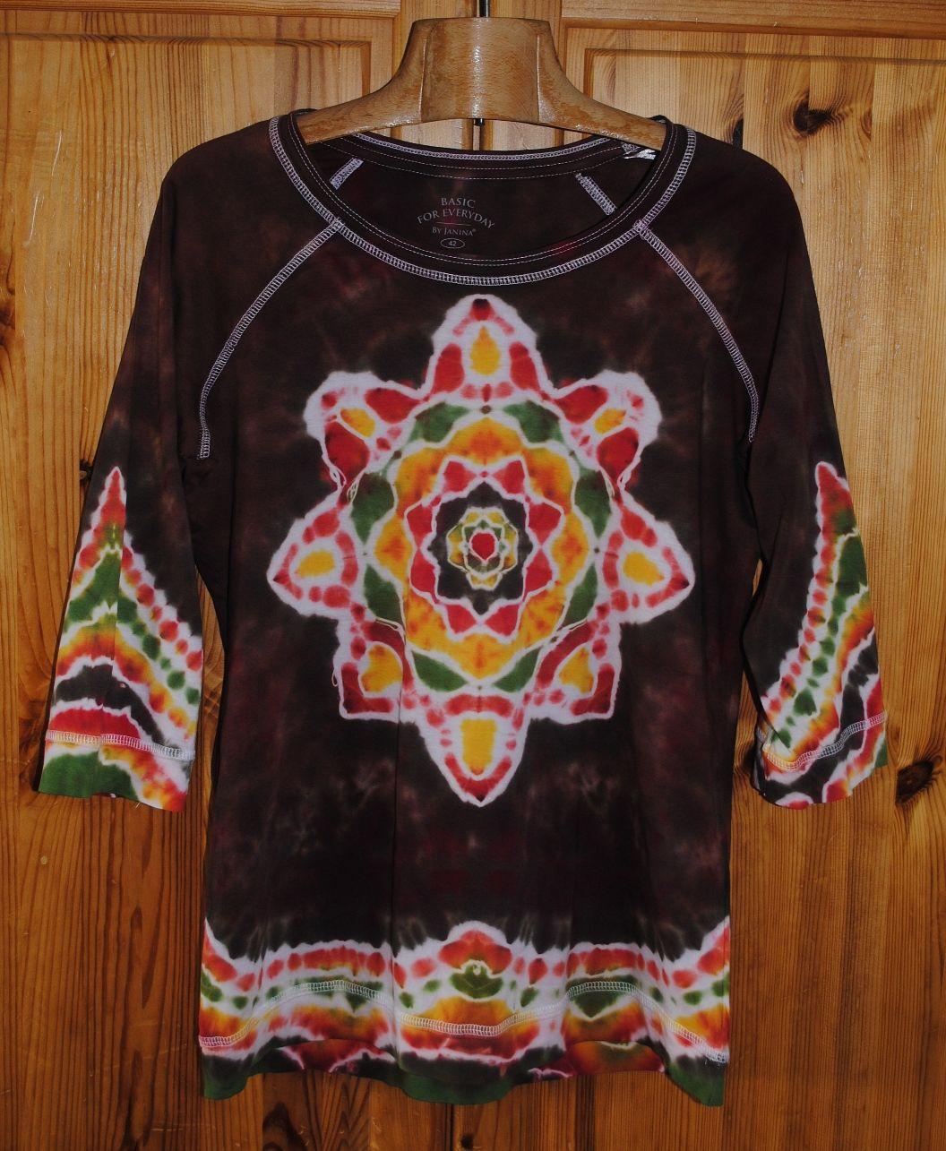 8f39c6ed6fd Originální dámské batikované tričko.