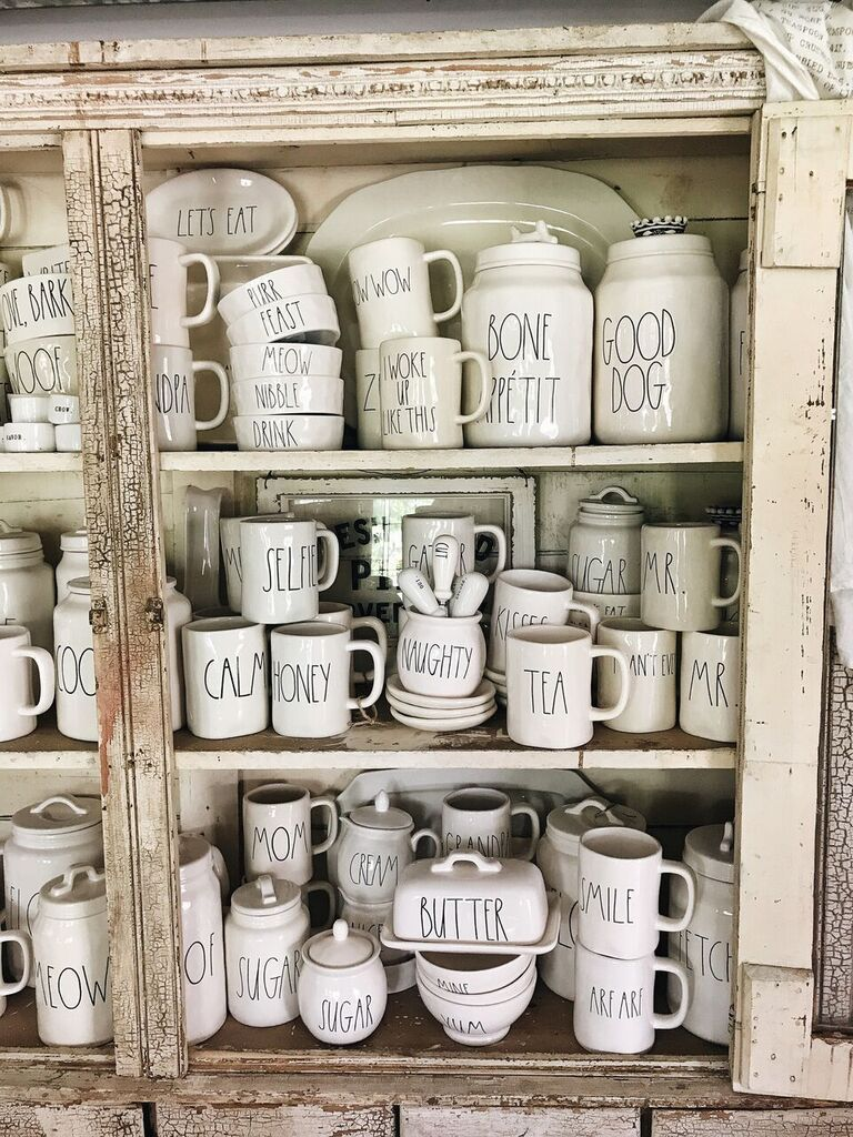 My Rae Dunn Collection Amp Faq S Shabby Chic Kitchen