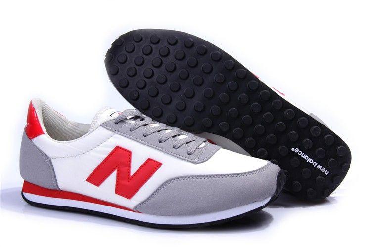 FP3C New Balance (NB) 410 Heren Dames Wit Grijs Rood Running ...