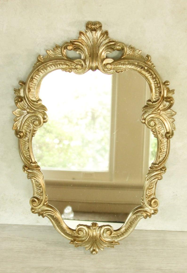 Regency Italian Mirror Vintage Ornate Wall Mirror Antique Silver Ornate Mirror Mirror Wall [ 1155 x 794 Pixel ]