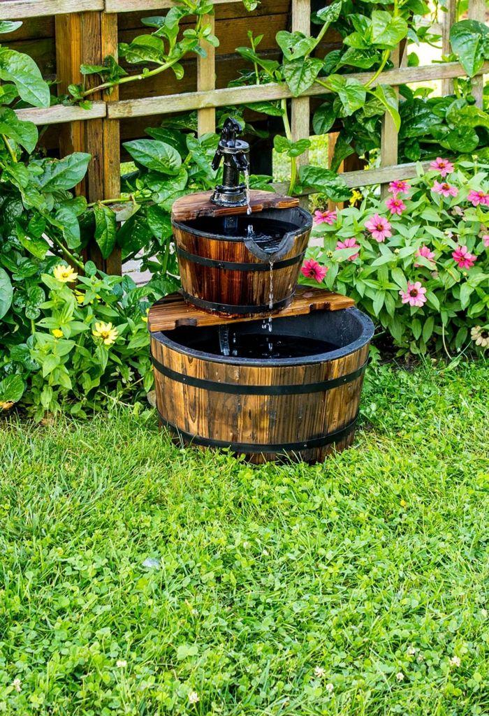 1001 ideas encantadores de dise o de patios decorados - Diseno de jardines rusticos ...