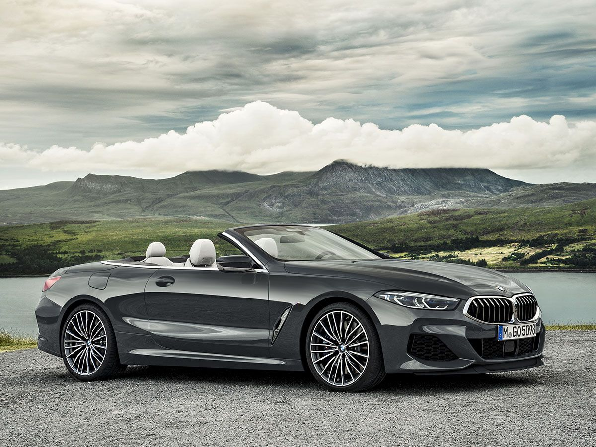 2019 Bmw 8 Series Convertible First Look Bmw New Bmw Expensive Cars