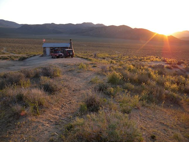 Geologist Cabin Death Valley Land Rover Discovery