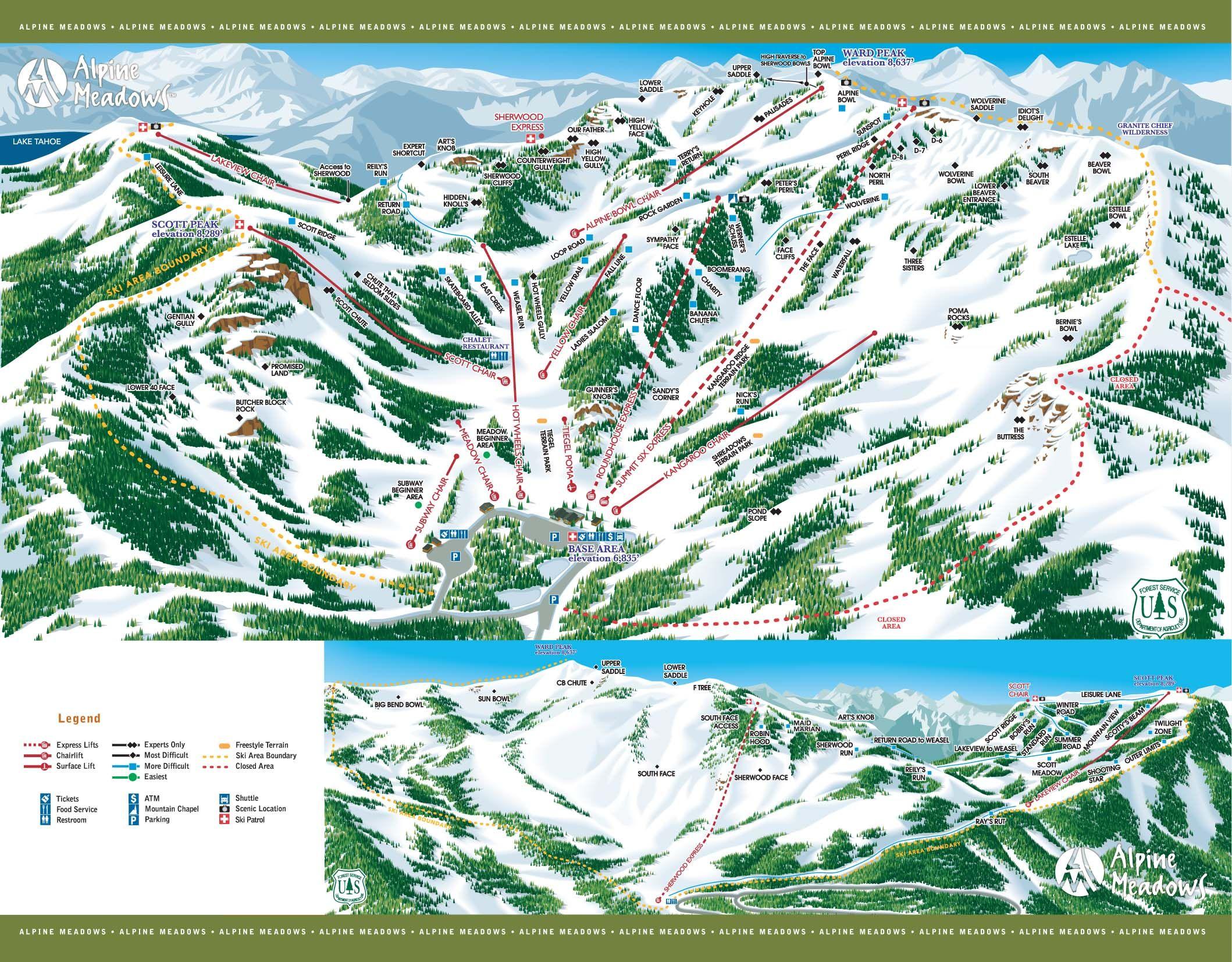 alpine meadows ski resort | ski resorts | pinterest | skiing, alpine