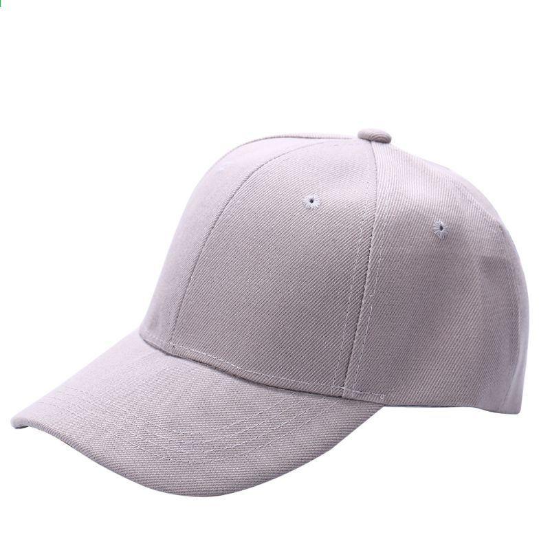 Erkekler Kadınlar Düz Beyzbol Şapkası Unisex Kavisli Visor Şapka Hip-Hop  Ayarlanabilir Peaked Şapka Visor Caps Katı 2018 d1c6cb4d70